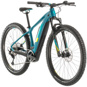 Cube Access Hybrid Race 500 Dame pinetree/lime